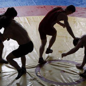 Подготовка к соревнованиям по борцовским видам единоборств